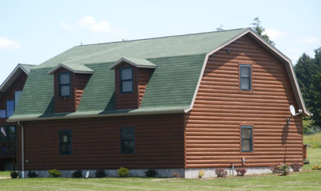 Tongue and Groove Hardwood Siding
