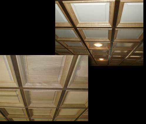 TCS Hardwood Ceiling Systems